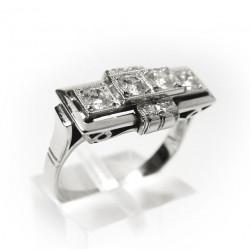 Prsten s diamanty (Psd02)