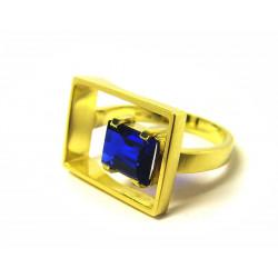 Prsten se safírem (Psbk06)