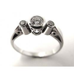 Prsten s diamanty (Psd03)
