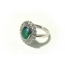 Prsten s diamanty a...