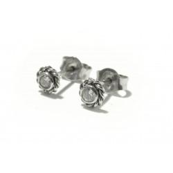 Náušnice s diamanty - pecky...