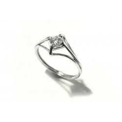 "Prsten ""Dráťák"" s diamantem..."
