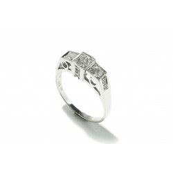 Prsten s diamanty (Psd08)